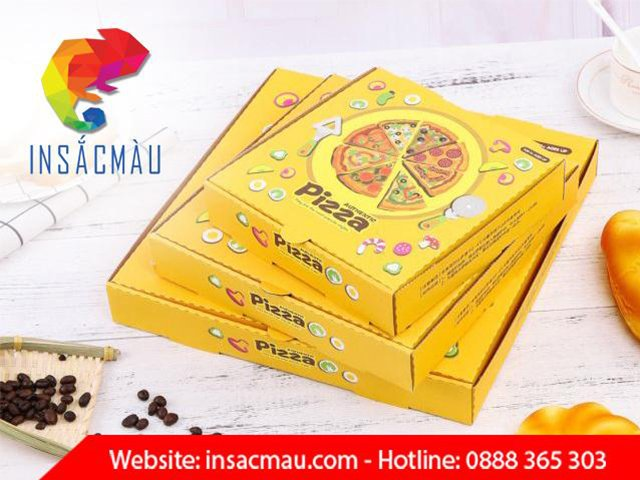 in hộp bánh pizza hcm