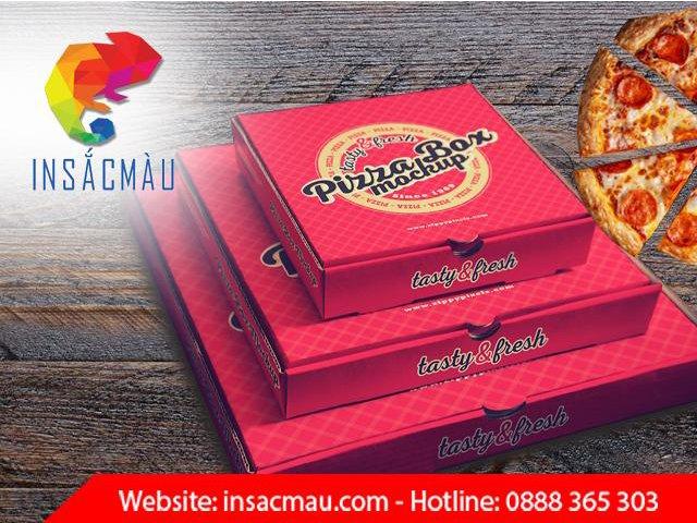 in hộp bánh pizza đẹp giá rẻ