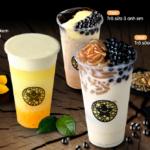 in logo decal dán ly trà sữa chất lượng