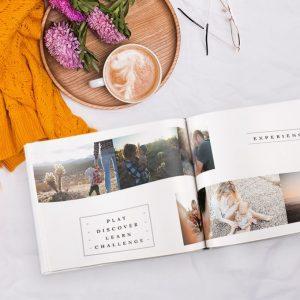 In photobook