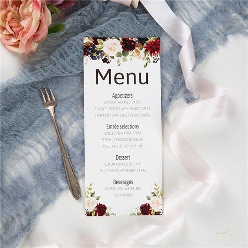 mẫu menu nhà hàng lấy ngay