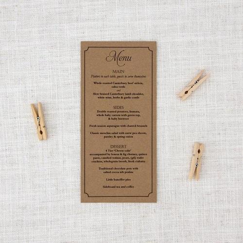 mẫu thực đơn nhà hàng chất lượng hcm