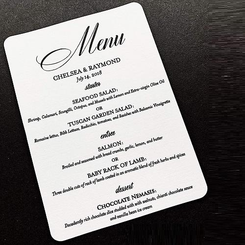 mẫu thực đơn nhà hàng