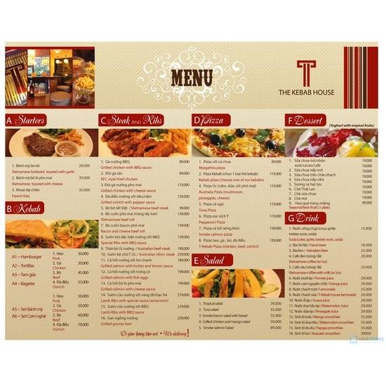 mẫu menu quán ăn ấn tượng