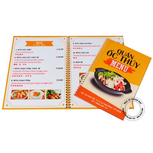 mẫu menu quán ăn lấy ngay