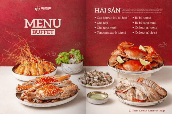 những mẫu menu quán ăn đẹp