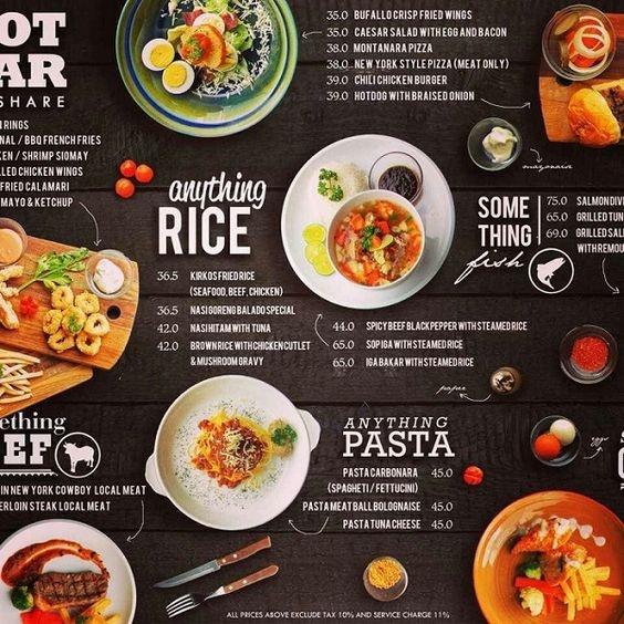 menu quán nhậu đẹp đẹp mắt