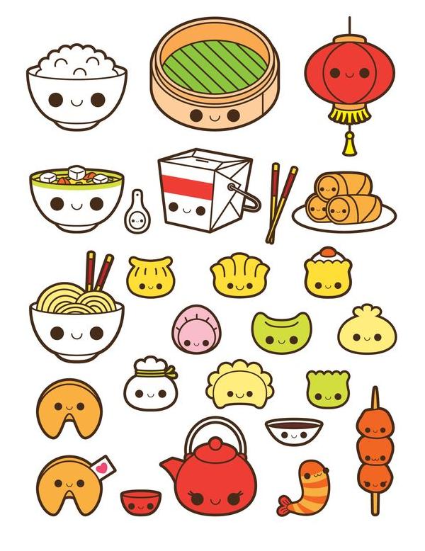 mẫu sticker cute đẹp mắt