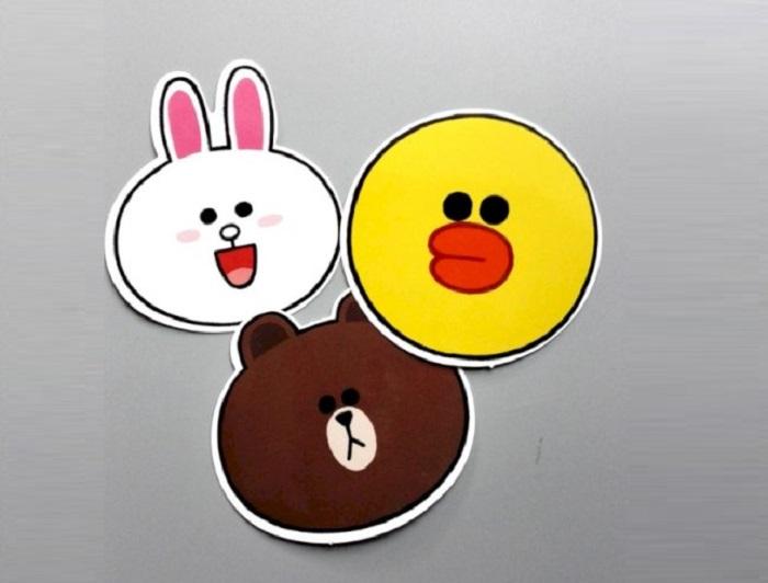mẫu sticker cute đẹp