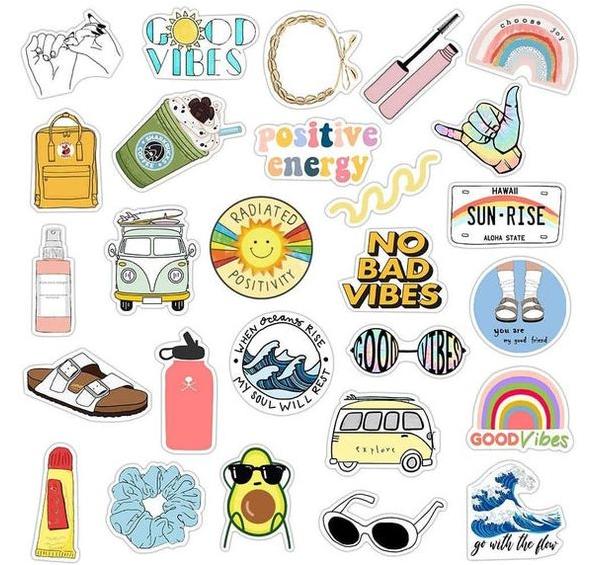 in ấn mẫu sticker cute đẹp
