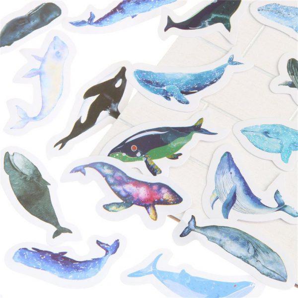 mẫu sticker cute hình cá