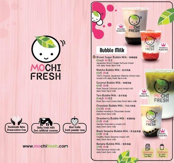 mẫu menu trà sữa đẹp tại in sắc màu
