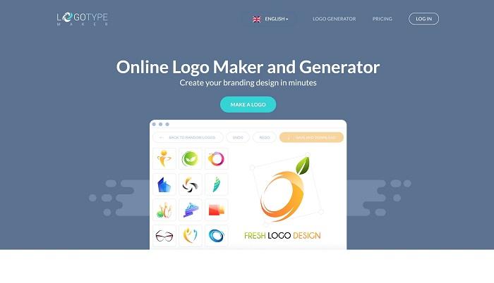 phần mềm thiết kế logo miễn phí Logo Type Maker