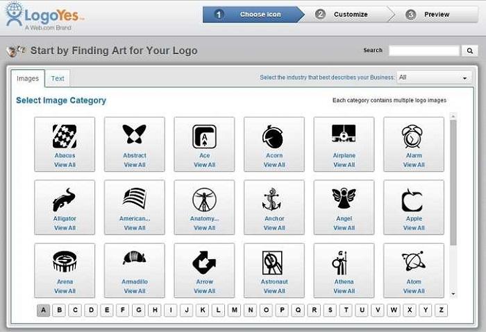 phần mềm thiết kế logo miễn phí logo yes