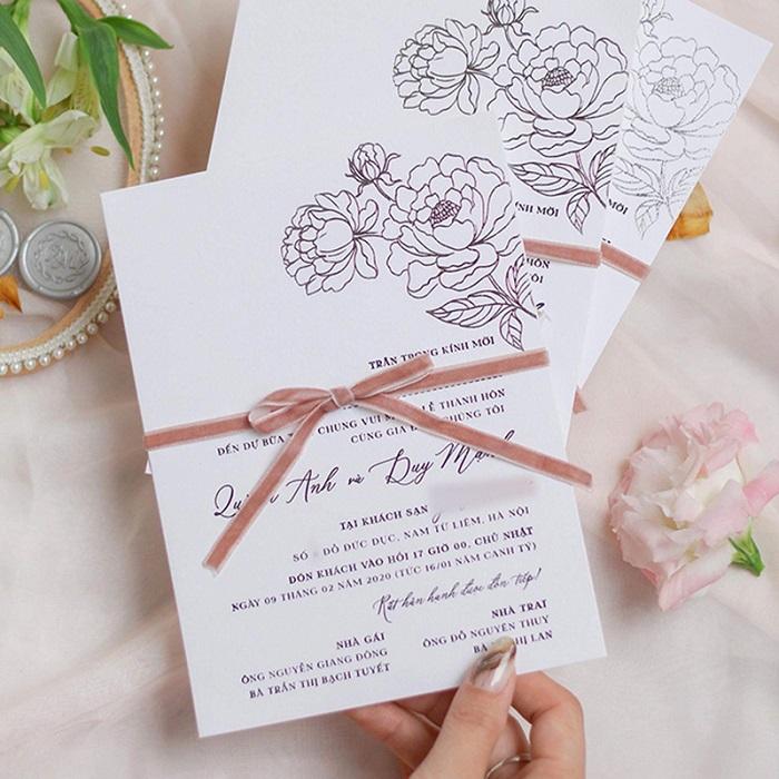 In thiệp cưới đepj