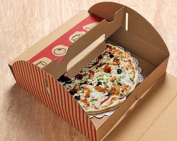 hộp giấy đựng thức ăn nhanh pizza