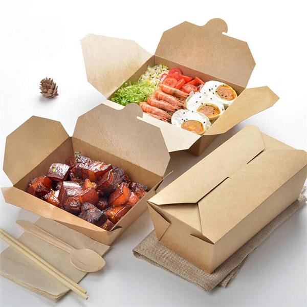hộp giấy đựng thức ăn