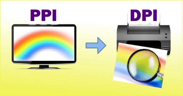 độ phân giải DPI, PPI