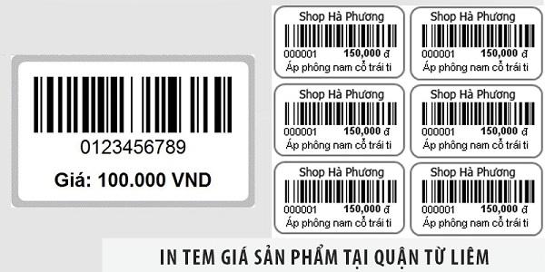 Tem giá sản phẩm giá rẻ