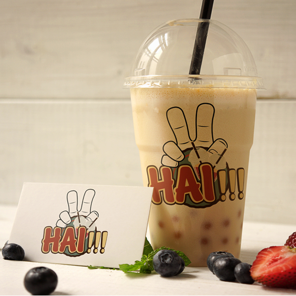 in mẫu logo đẹp kinh doanh trà sữa