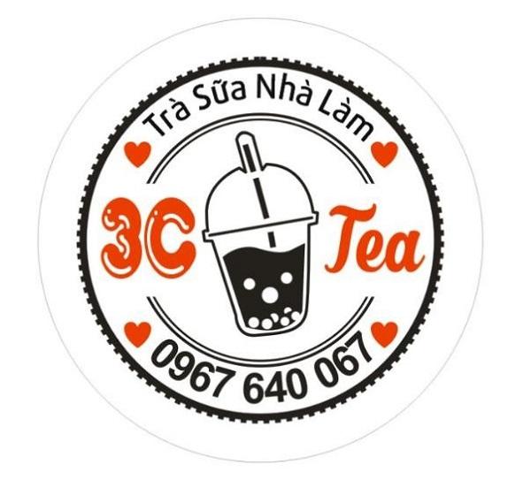 mẫu logo đẹp cho quán trà sữa