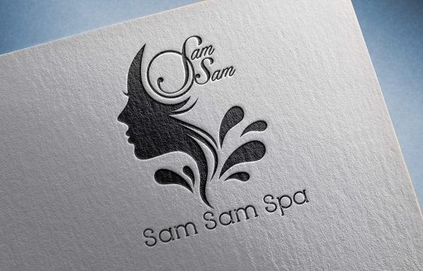 mẫu logo đẹp chất lượng cho spa