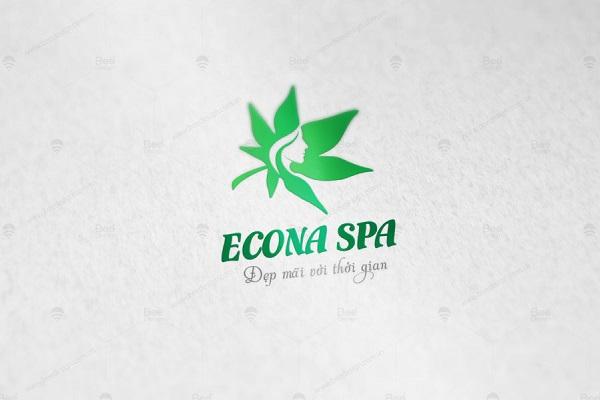 đặt làm mẫu logo đẹp cho spa