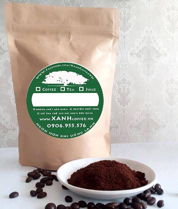 mẫu logo đẹp cho thương kinh doanh hiệu cà phê