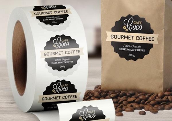 mẫu logo cà phê đẹp