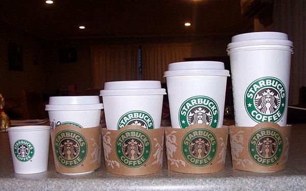 logo dán ly cà phê đẹp