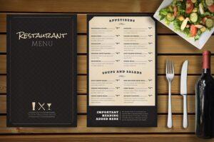 vai trò của menu