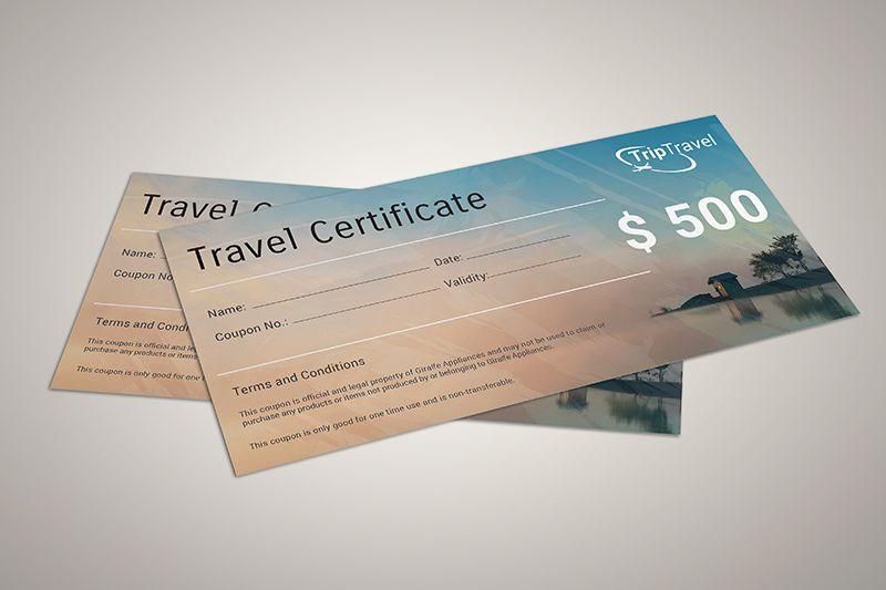 Mẫu voucher đẹp rẻ cho ngành du lịch