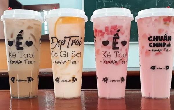 In tem dán ly trà sữa có tác dụng gì?