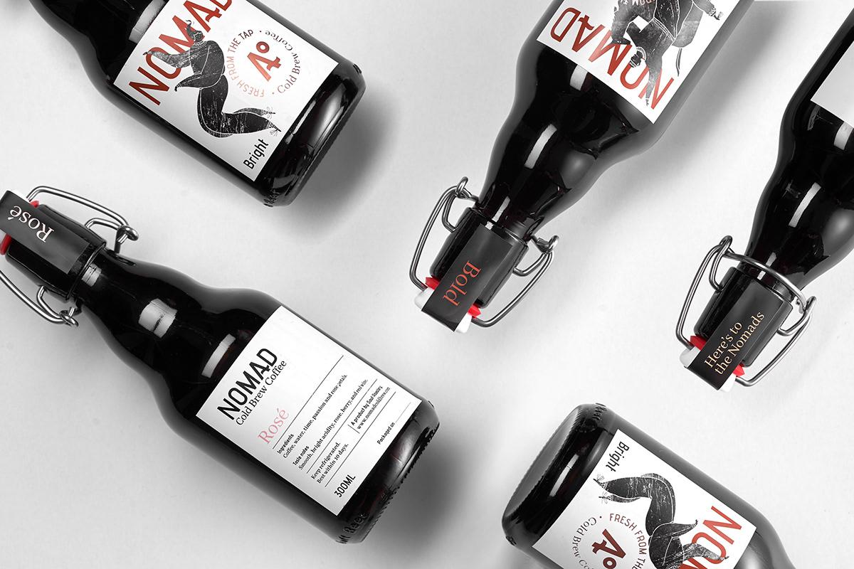 mẫu nhãn chai đẹp ấn tượng